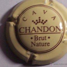 Coleccionismo de cava: PLACA DE CAVA CHANDON (BRUT NATURE). Lote 46919779