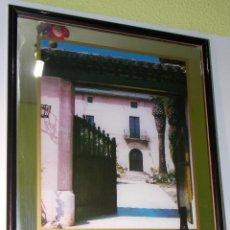 Coleccionismo de cava: CUADRO ESPEJO DE PUBLICIDAD CAVA ORIOL ROSSELL // CHAMPAN. Lote 46965431