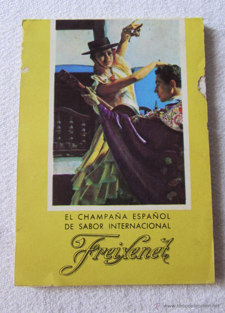 FREIXENET - LIBRETA ANTIGUA - CHAMPAÑA ESPAÑOL (Coleccionismo - Botellas y Bebidas - Cava)