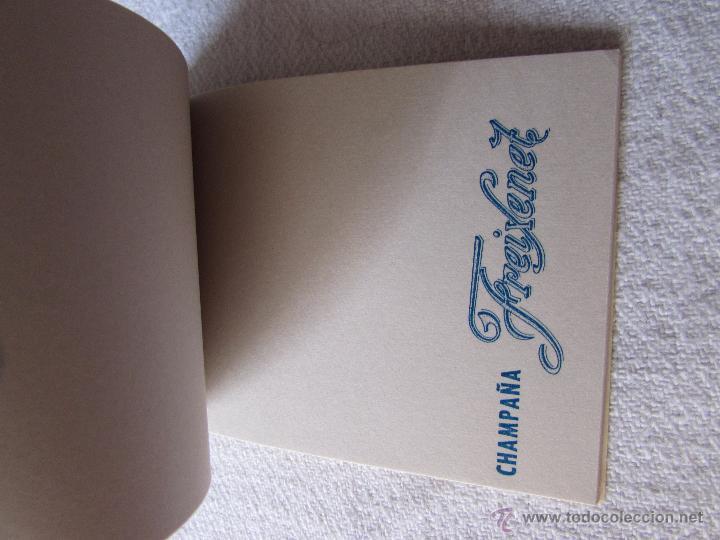 Coleccionismo de cava: FREIXENET - LIBRETA ANTIGUA - CHAMPAÑA ESPAÑOL - Foto 2 - 50999902