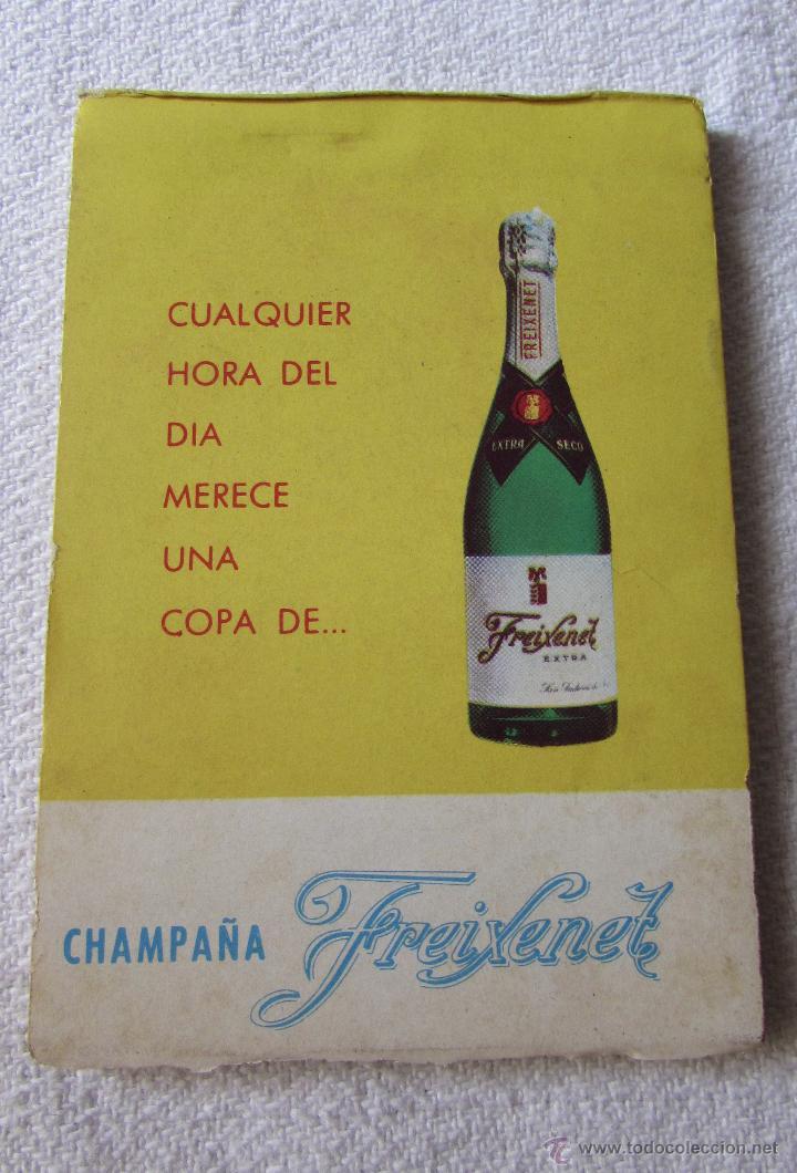 Coleccionismo de cava: FREIXENET - LIBRETA ANTIGUA - CHAMPAÑA ESPAÑOL - Foto 3 - 50999902