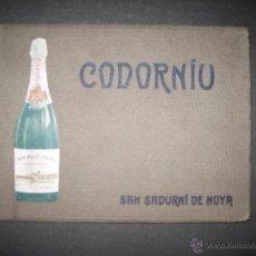 Coleccionismo de cava: CODORNIU - CATALOGO ANTIGUO AÑO 1924 - VER FOTOS - (V-3010). Lote 51151974