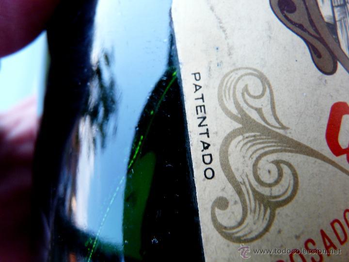 Coleccionismo de cava: BOTELLA VINTAGE DOM YAGO - RIOJA SANTIAGO - HARO VINO ESPUMANTE ROSADO - Foto 6 - 53089636