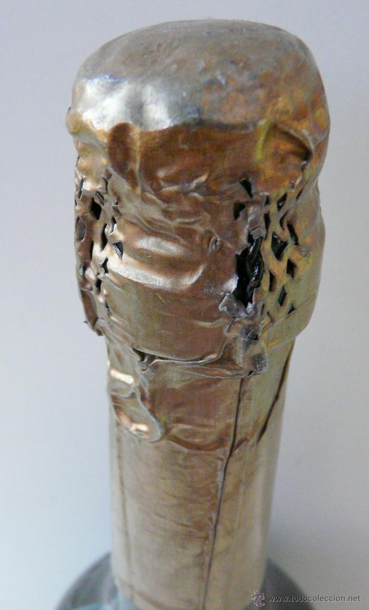 Coleccionismo de cava: BOTELLA VINTAGE DOM YAGO - RIOJA SANTIAGO - HARO VINO ESPUMANTE ROSADO - Foto 17 - 53089636