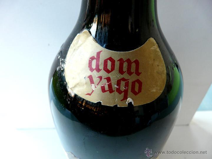 Coleccionismo de cava: BOTELLA VINTAGE DOM YAGO - RIOJA SANTIAGO - HARO VINO ESPUMANTE ROSADO - Foto 18 - 53089636