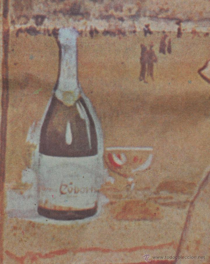 Coleccionismo de cava: PAÑUELO EN SEDA CON PUBLICIDAD DE CODORNIU DE LOS AÑOS 60 - Foto 2 - 53057956