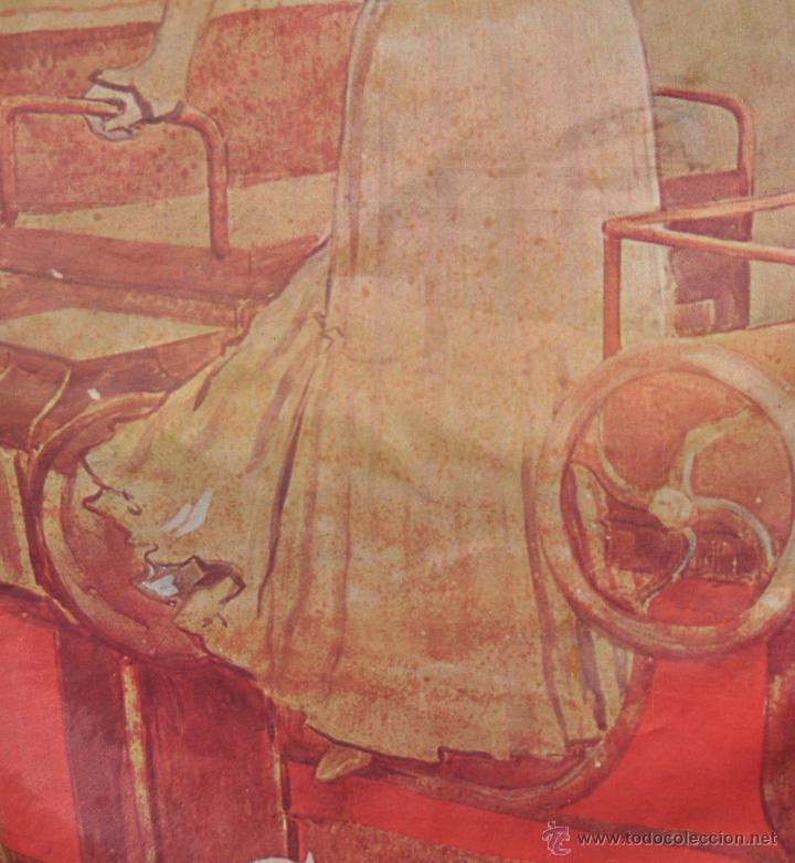 Coleccionismo de cava: PAÑUELO EN SEDA CON PUBLICIDAD DE CODORNIU DE LOS AÑOS 60 - Foto 4 - 53057956