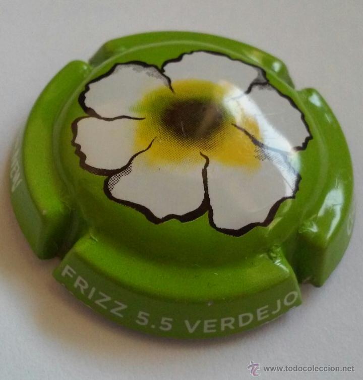 PLACA FRIZZ 5.5 CODORNEW (Coleccionismo - Botellas y Bebidas - Cava)