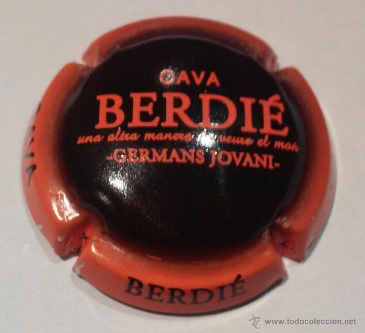 PLACA DE CAVA BERDIE (Coleccionismo - Botellas y Bebidas - Cava)