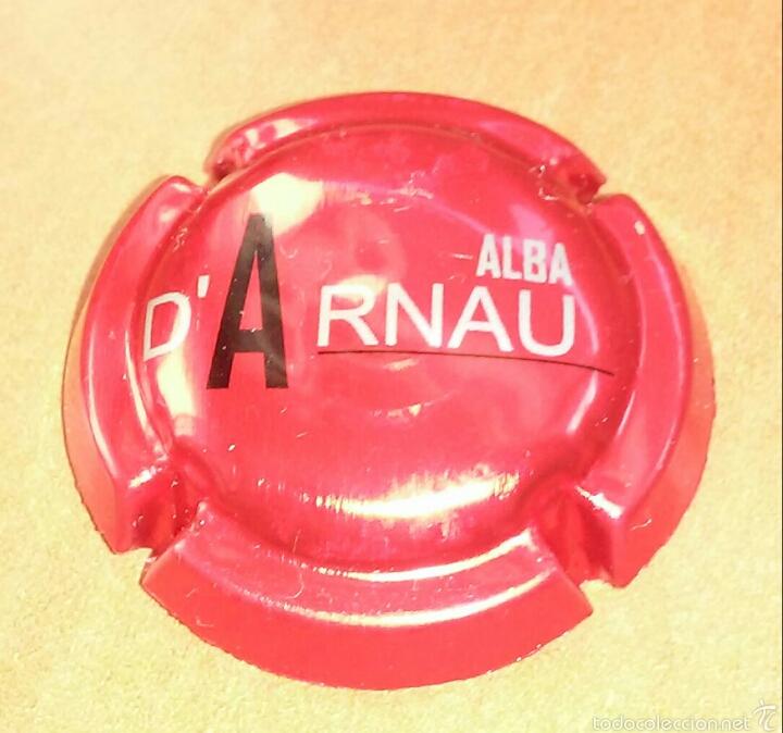 PLACA CAVA ALBA D'ARNAU (Coleccionismo - Botellas y Bebidas - Cava)
