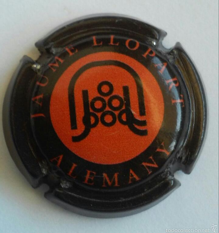 PLACA DE CAVA JAUME LLOPART (Coleccionismo - Botellas y Bebidas - Cava)