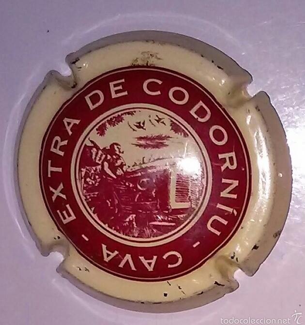 PLACA CAVA CODORNIU EXTRA (Coleccionismo - Botellas y Bebidas - Cava)