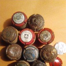 Coleccionismo de cava: CHAPAS DE CAVA ANTIGUAS. Lote 54439786