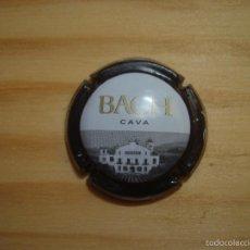 Coleccionismo de cava: 1 PLACA DE CAVA BACH NEGRA NEGRO PLACAS / CHAPA / CHAPAS. Lote 164583842