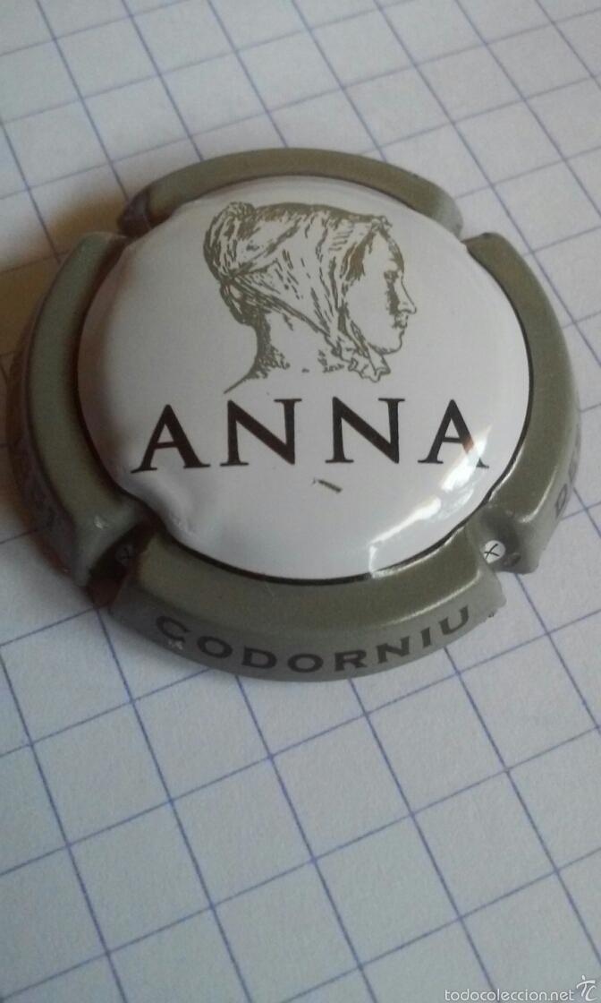 PLACA CAVA ANNA CODORNIU (Coleccionismo - Botellas y Bebidas - Cava)