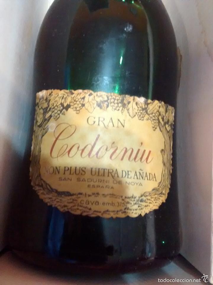 Coleccionismo de cava: Botella CAVA PRECINTADA , de Gran Codorniu Non Plus Ultra de Añada.EN CAJA - Foto 3 - 57694399