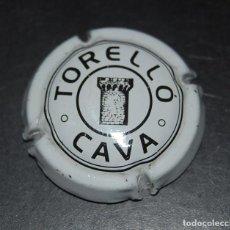 Coleccionismo de cava: CHAPA O PLACA DE CAVA TORELLO. Lote 62545844