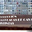 Coleccionismo de cava: LOTE COLECCIÓN DE 144 PLACAS DE CAVA TODAS DISTINTAS PLACA EN HOJAS Y ALBUM VER FOTOGRAFIAS. Lote 67994949
