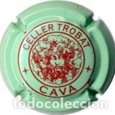 Coleccionismo de cava: PLACA DE CAVA CELLER TROBAT. Lote 68515421