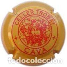 Coleccionismo de cava: PLACA DE CAVA CELLER TROBAT. Lote 121040408