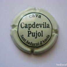 Coleccionismo de cava: PLACA DE CAVA CAPDEVILA PUJOL. Lote 68757805