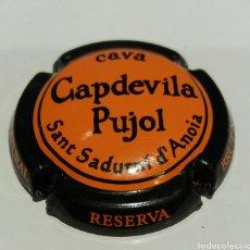 Coleccionismo de cava: PLACA DE CAVA CAPDEVILA PUJOL. Lote 68787486