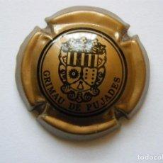 Coleccionismo de cava: PLACA DE CAVA GRIMAU PUJADES Nº VIADER 0484. Lote 74173971