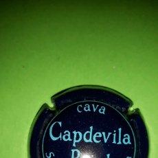 Coleccionismo de cava: PLACA CHAPA DE CAVA - CAPDEVILA PUJOL. Lote 82125803