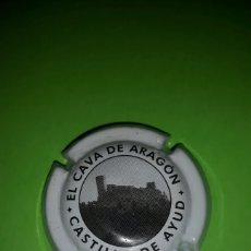 Coleccionismo de cava: PLACA CHAPA DE CAVA - EL CAVA DE ARAGÓN. Lote 83117840
