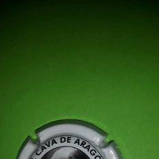 Coleccionismo de cava: PLACA CHAPA DE CAVA - EL CAVA DE ARAGÓN. Lote 83118010