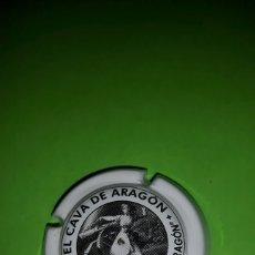 Coleccionismo de cava: PLACA CHAPA DE CAVA - EL CAVA DE ARAGÓN. Lote 83118083