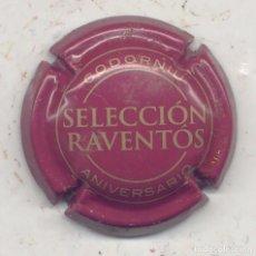 Coleccionismo de cava: PLACA CAVA CODORNIU SELECCIÓN RAVENTÓS - 13771 CHAPA XAPA CAPSULE. Lote 83417672