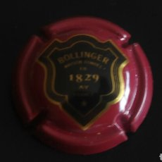 Coleccionismo de cava: PLACA DE CHAMPAGNE BOLLINGER. Lote 90468315