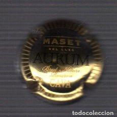 Coleccionismo de cava: PLACA DE CAVA MASET DEL LLEÓ - AURUM - BRUT NATURE RESERVA -. Lote 91371635