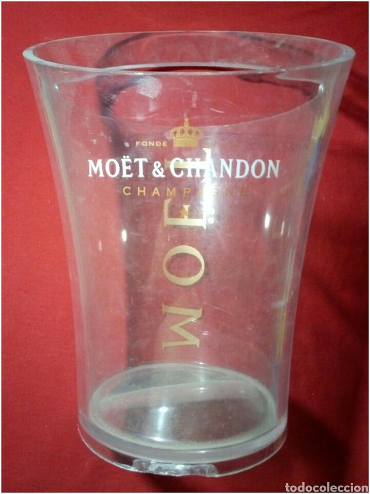 MOËT & CHARDON CHAMPAGNE CUVITERA EXCLUSIVA MOËT (Coleccionismo - Botellas y Bebidas - Cava)