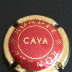 Coleccionismo de cava: PLACA DE CAVA RONDEL . Lote 94933380