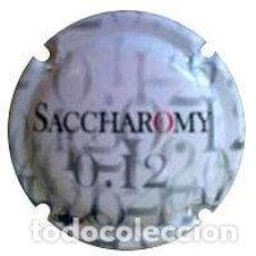 Coleccionismo de cava: PLACA DE CAVA SACCHAROMY . Lote 95178015