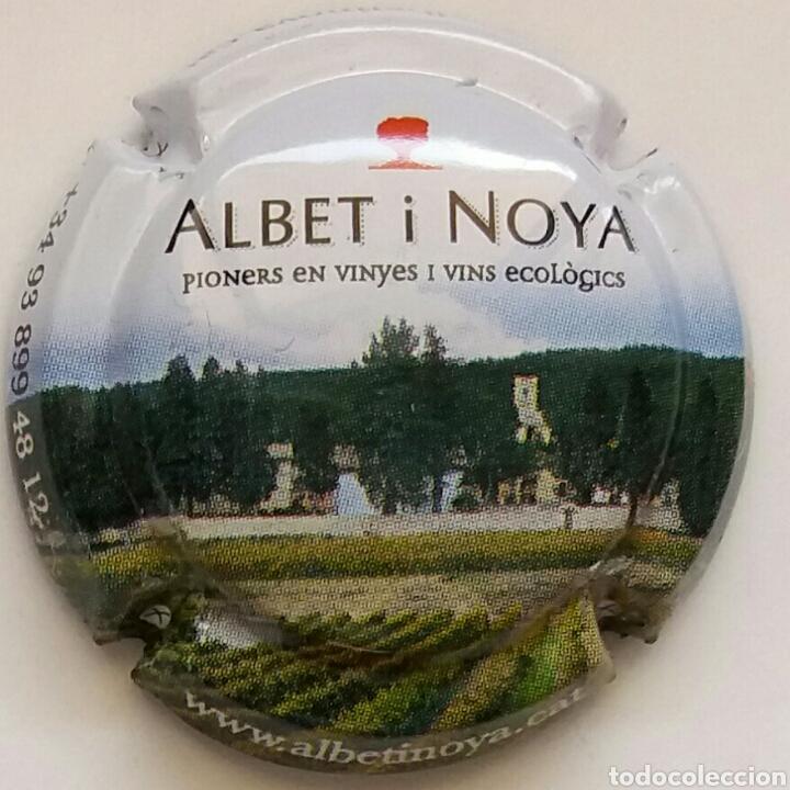 PLACA CAVA ALBET I NOYA (Coleccionismo - Botellas y Bebidas - Cava)