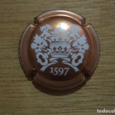 Coleccionismo de cava: 1 PLACA DE CAVA AVINYO GRAN RESERVA SELECCIO LA TICOTA 1597 - PLACAS CHAPA CHAPAS CAPSULE. Lote 97588195