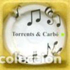 Coleccionismo de cava: (107) PLACA CAVA ++ TORRENTS CARBO +++ N. 4719. Lote 98022243
