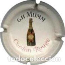 Coleccionismo de cava: (55) PLACA. CAPSULE CHAMPAGNE . CAVA .... G. H. MUMM (REVERSO ARGENTADO). Lote 98694367