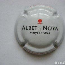 Coleccionismo de cava: PLACA DE CAVA ALBET I NOYA Nº 6701. Lote 101211935