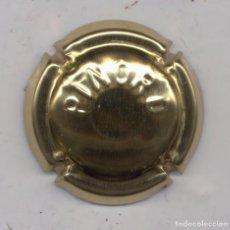 Coleccionismo de cava: CAVA PLACA PINORD ESTAMPADA DORADA - XAPA CHAPA CAPSULE. Lote 101933251