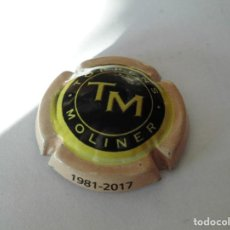 Coleccionismo de cava: MAGNIFICA PLACA DE CAVA TORRENS MOLINER. Lote 104289547