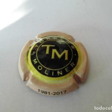 Coleccionismo de cava: MAGNIFICA PLACA DE CAVA TORRENS MOLINER. Lote 104289603