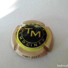 Coleccionismo de cava: MAGNIFICA PLACA DE CAVA TORRENS MOLINER. Lote 104289751