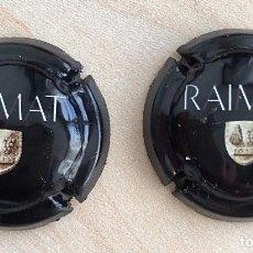 Coleccionismo de cava: PLACA CAVA RAIMAT BLACK. Lote 105656995