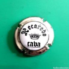 Coleccionismo de cava: CHAPA CAVA - RECAREDO / CAVA. Lote 107731768