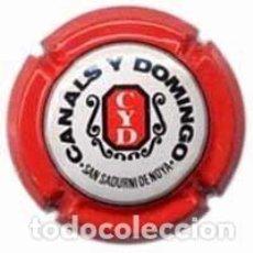 Coleccionismo de cava: PLACA DE CAVA - CANALS Y DOMINGO Nº VIADER 302. Lote 246539795