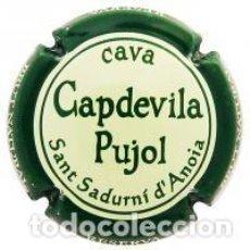 Coleccionismo de cava: PLACA DE CAVA - CAPDEVILA PUJOL 109919. Lote 107796163
